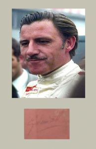 Graham Hill, Formula 1, Genuine Signed Autograph